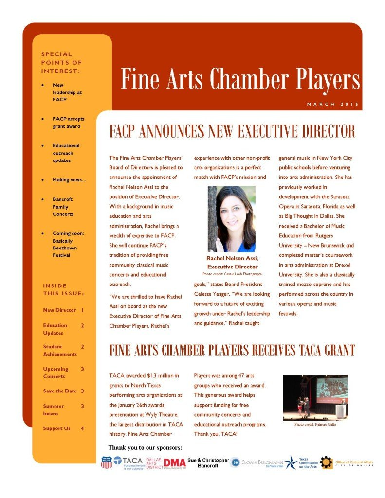 March newsletter1