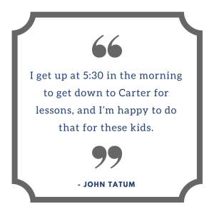 John Tatum quote