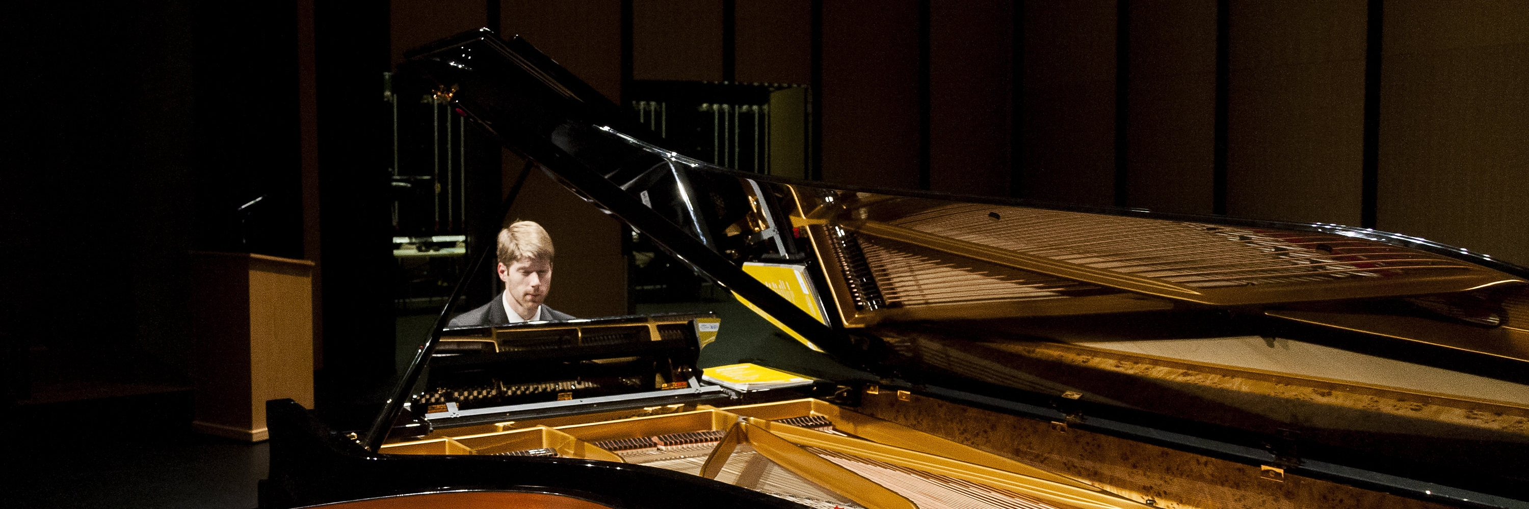 Alex McDonald, pianist, at Basically Beethoven Festival