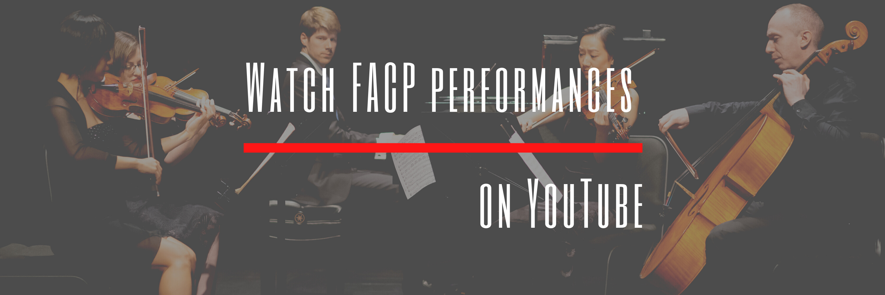 YouTube banner for FACP site